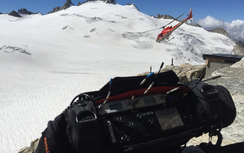 SX-R4+ @Trient glacier
